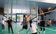 """奋力拼搏 精诚团结——南宁卓立实验学校第十一届""""春蕾杯""""气排球比赛"""